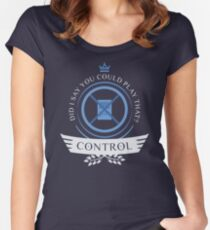 Control Life V1 Women's Fitted Scoop T-Shirt