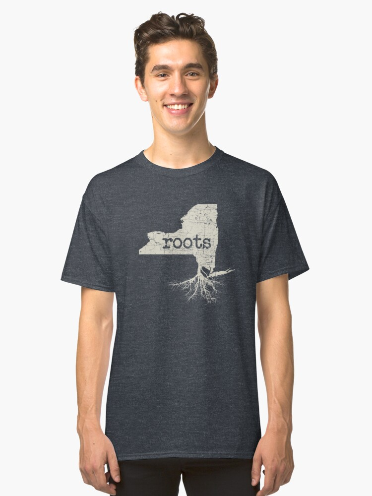 New York Roots Classic T-Shirt Front