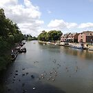 River Avon Viewed From Evesham by CreativeEm