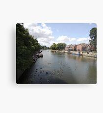 River Avon Viewed From Evesham Metal Print