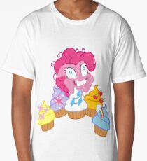 my little pony pinkie pie cupcakes 2 Long T-Shirt