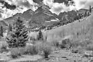 Maroon Creek Monochrome by Eric Glaser