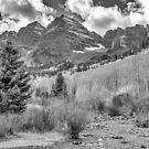 Maroon Creek Monochrome by Eric Glaser