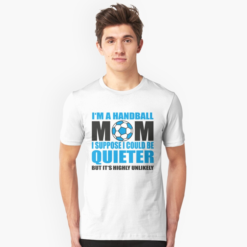 Handball Mom Unisex T-Shirt Front