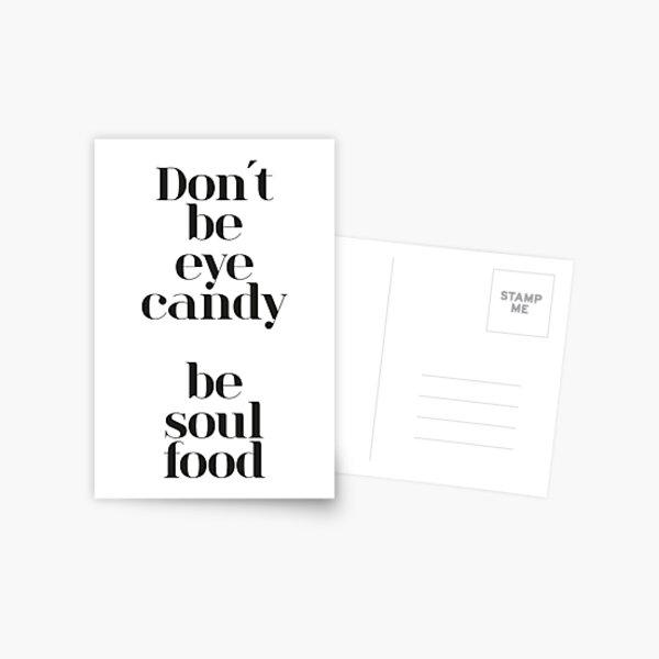 Eye Candy Postkarte