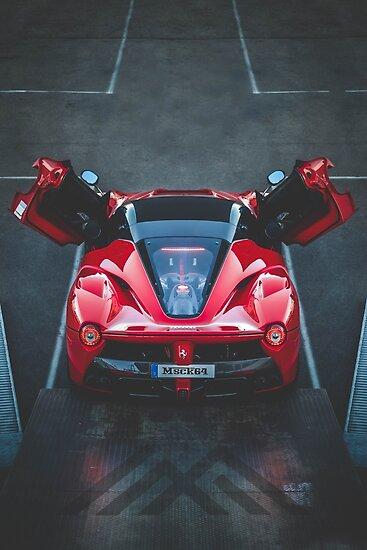 Ferrari Laferrari Aperta Druckt Plakate Und Karten Poster Von