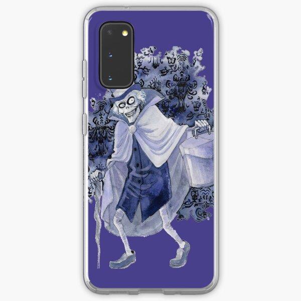 Haunted Mansion Hatbox Ghost Samsung Galaxy Soft Case