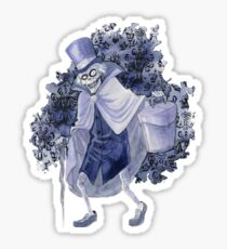 Haunted Mansion Hatbox Ghost Sticker