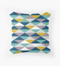 Geometric Pattern | Triangles Throw Pillow