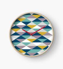 Geometric Pattern | Triangles Clock