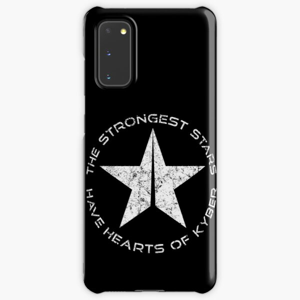 Strongest Stars Have Hearts of Kyber Samsung Galaxy Snap Case