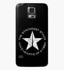 Stärkste Sterne haben Herzen von Kyber Hülle & Klebefolie für Samsung Galaxy