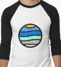 At the Beach Men's Baseball ¾ T-Shirt