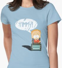 Timmy! Womens Fitted T-Shirt