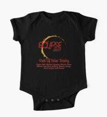 Solar Eclipse USA Path of Totality 2017 Kids Clothes
