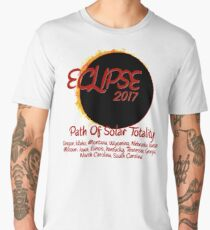 Solar Eclipse USA Path of Totality 2017 Men's Premium T-Shirt