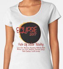 Solar Eclipse USA Path of Totality 2017 Women's Premium T-Shirt