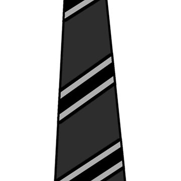 Business Casual Mock Black Tie by JerryWLambert