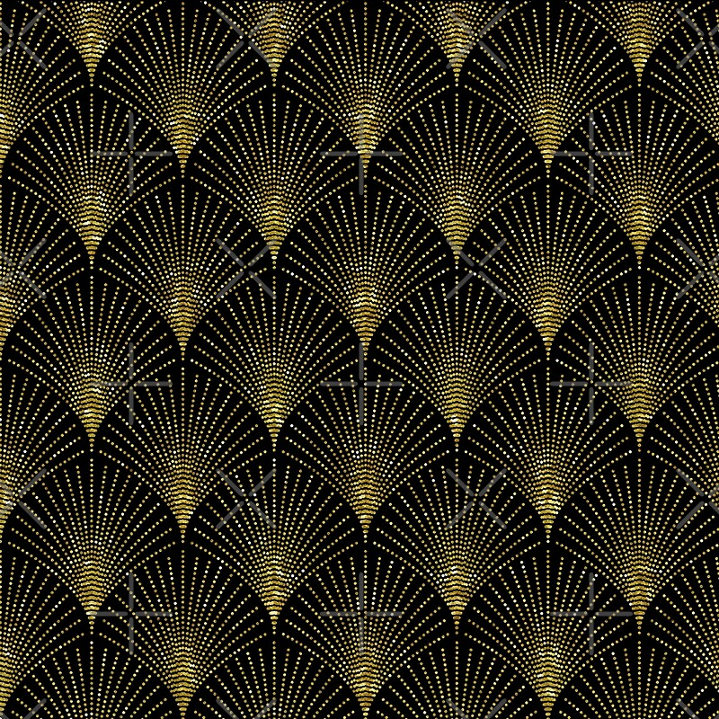 Art Deco Geometric Patterns Designs