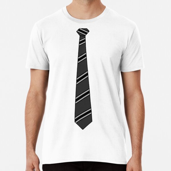Business Casual Mock Black Tie Premium T-Shirt