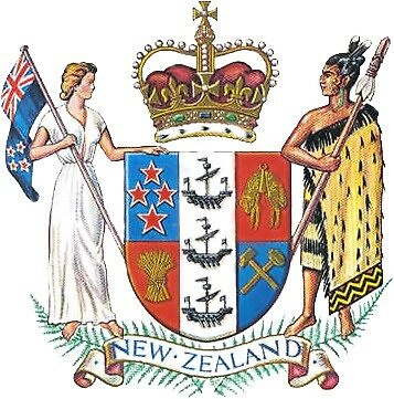 New Zealand Coat of Arms by Tonbbo