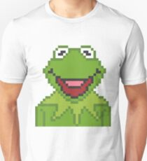 Kermit The Muppets Pixel Character Unisex T-Shirt
