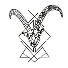 Geometric Capricorn (Steinbock) by mrf2thed