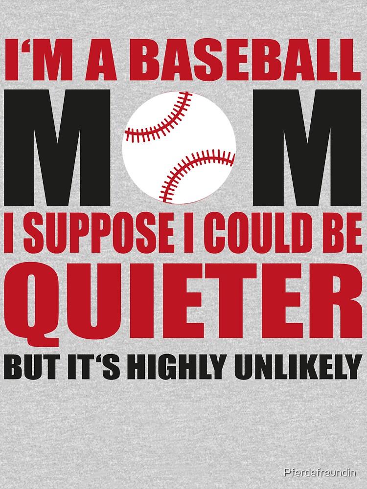 Baseball Mom by Pferdefreundin