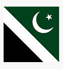 Flag of Islamabad, Pakistan Photographic Print