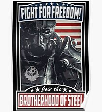 Fight For Freedom! BOS Poster Poster