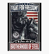 Fight For Freedom! BOS Poster Photographic Print