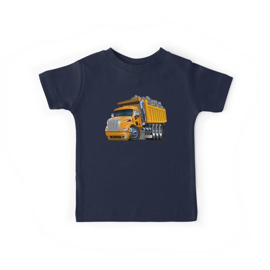 Cartoon Dump Truck by Mechanick