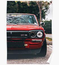 Nissan Skyline 2000 GTR Poster