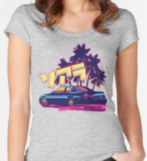 Soarer/SC Sunset Women's Fitted Scoop T-Shirt