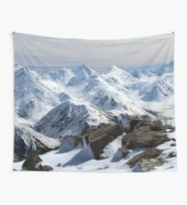 New Zealand Winter  Wall Tapestry