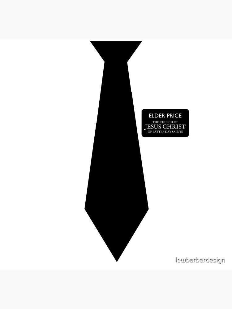 Ältester Preis - Buch Mormon von lewbarberdesign
