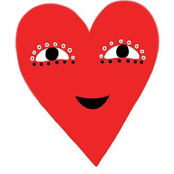 Funky Heart by bluboca