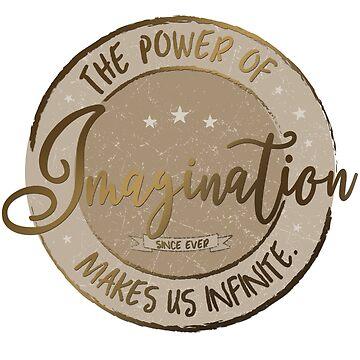 Die Macht der Phantasie ... (Gold / Sepia) von M-ohlala