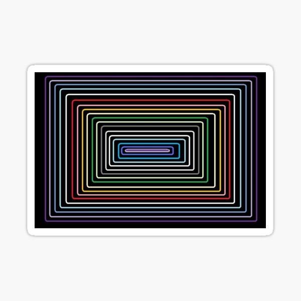 Rainbow Zone Sticker