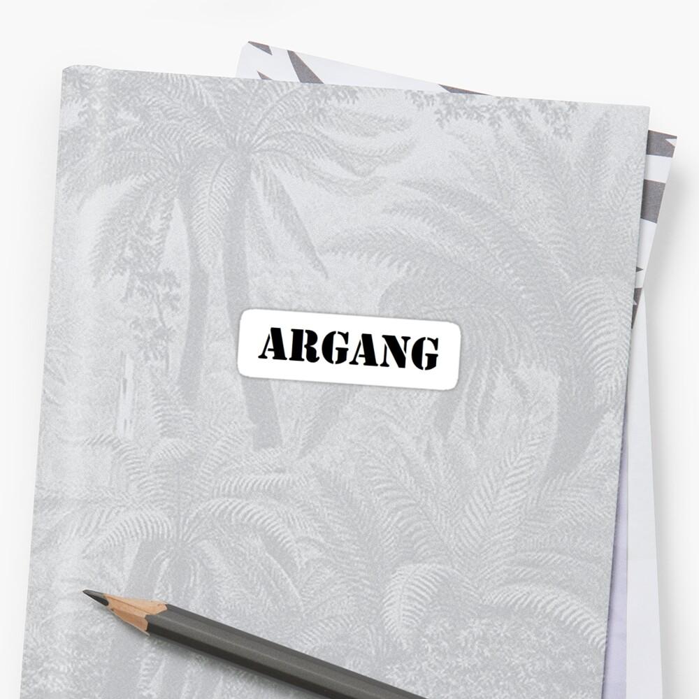 Argang Sticker - Aries by ashleejean