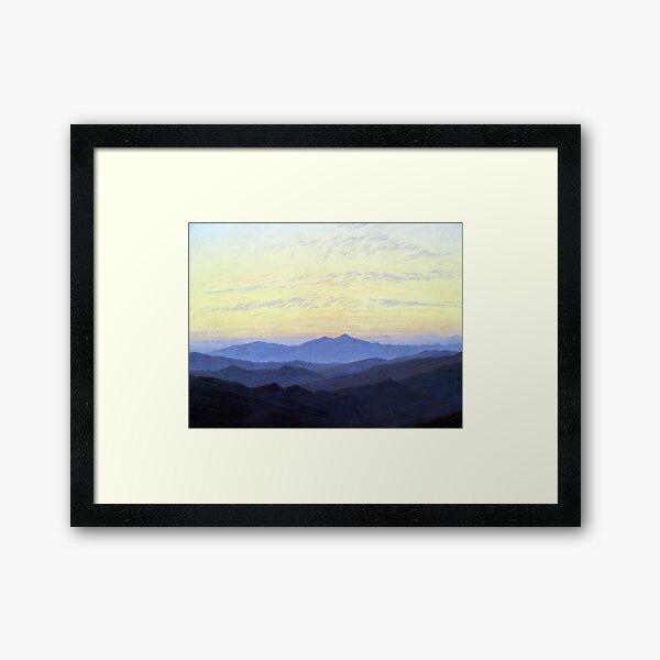 Caspar David Friedrich Riesengebirge Framed Art Print