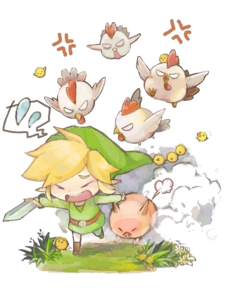 Zelda - Link by Bwahahahaha