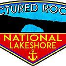 Pictured Rocks National Lakeshore Michigan 2 by MyHandmadeSigns