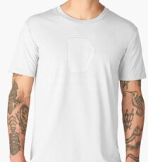 IF YOU ALL SEE IS A COFFEE MUG.. THEN YOU ARE NOT A GOLFER.  Men's Premium T-Shirt