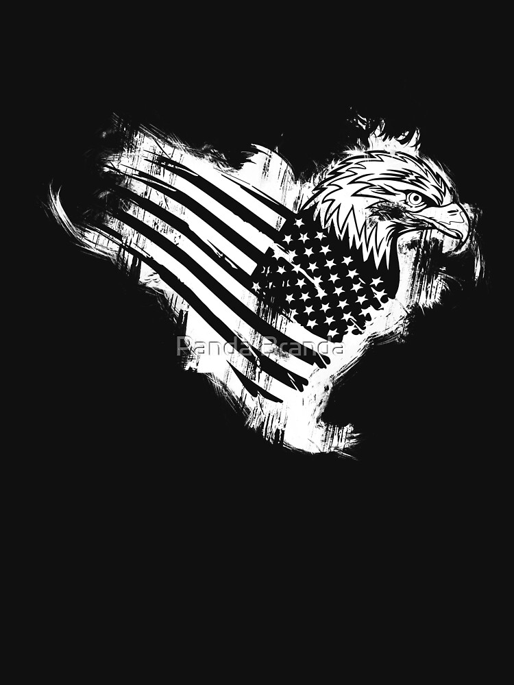 American Eagle Art Design by CrusaderStore