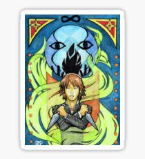 Persona 4 Portrait: Garudyne Sticker