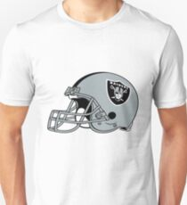 Oakland Raiders Helmet  T-Shirt