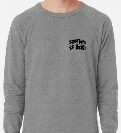 Stakes is High - De La Soul replica tour shirt black Lightweight Sweatshirt