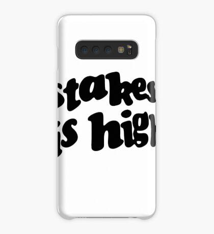 Stakes is High - De La Soul replica tour shirt black Case/Skin for Samsung Galaxy
