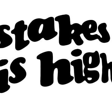 Stakes is High - Camisa de viaje de réplica De La Soul negra de TheJBeez